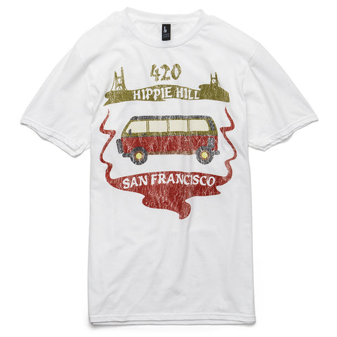 Hippie Hill Tee (White)