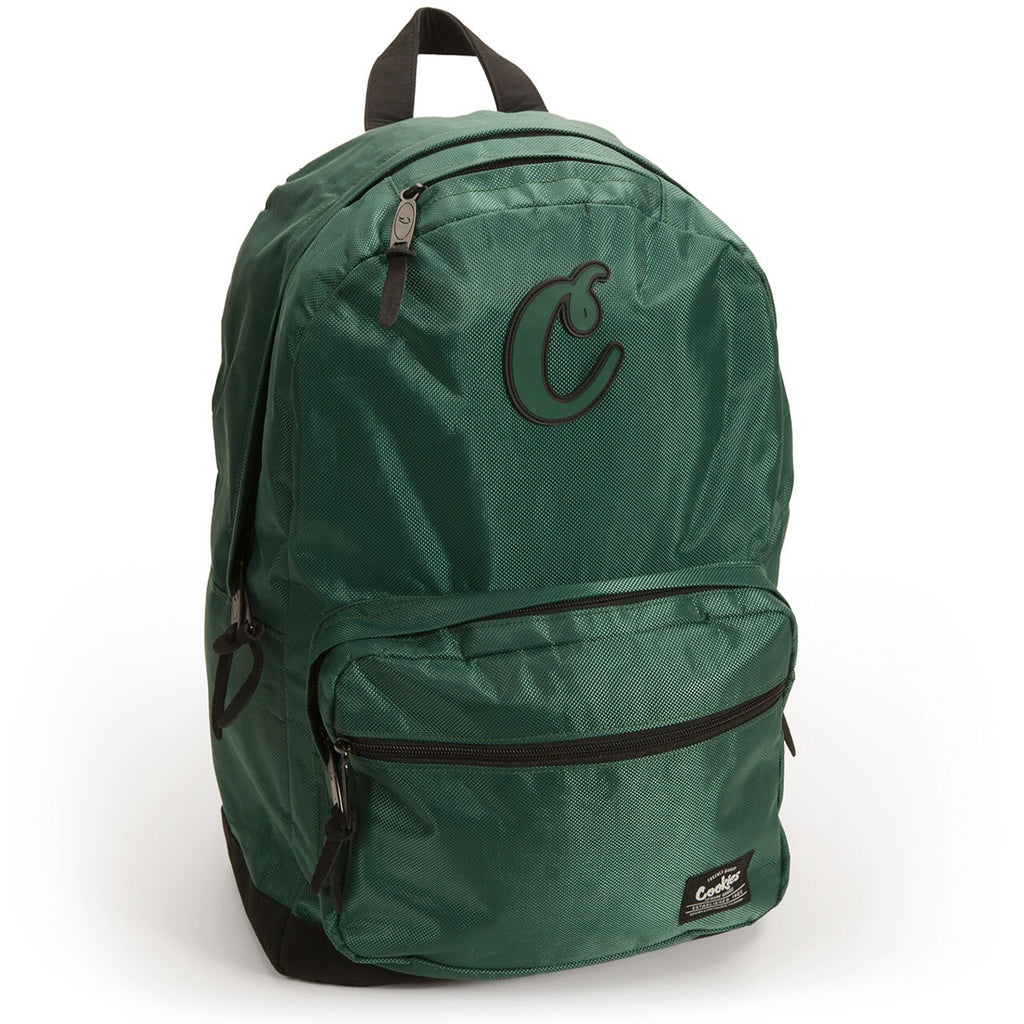 Daily Planner Nylon Backpack - GREEN