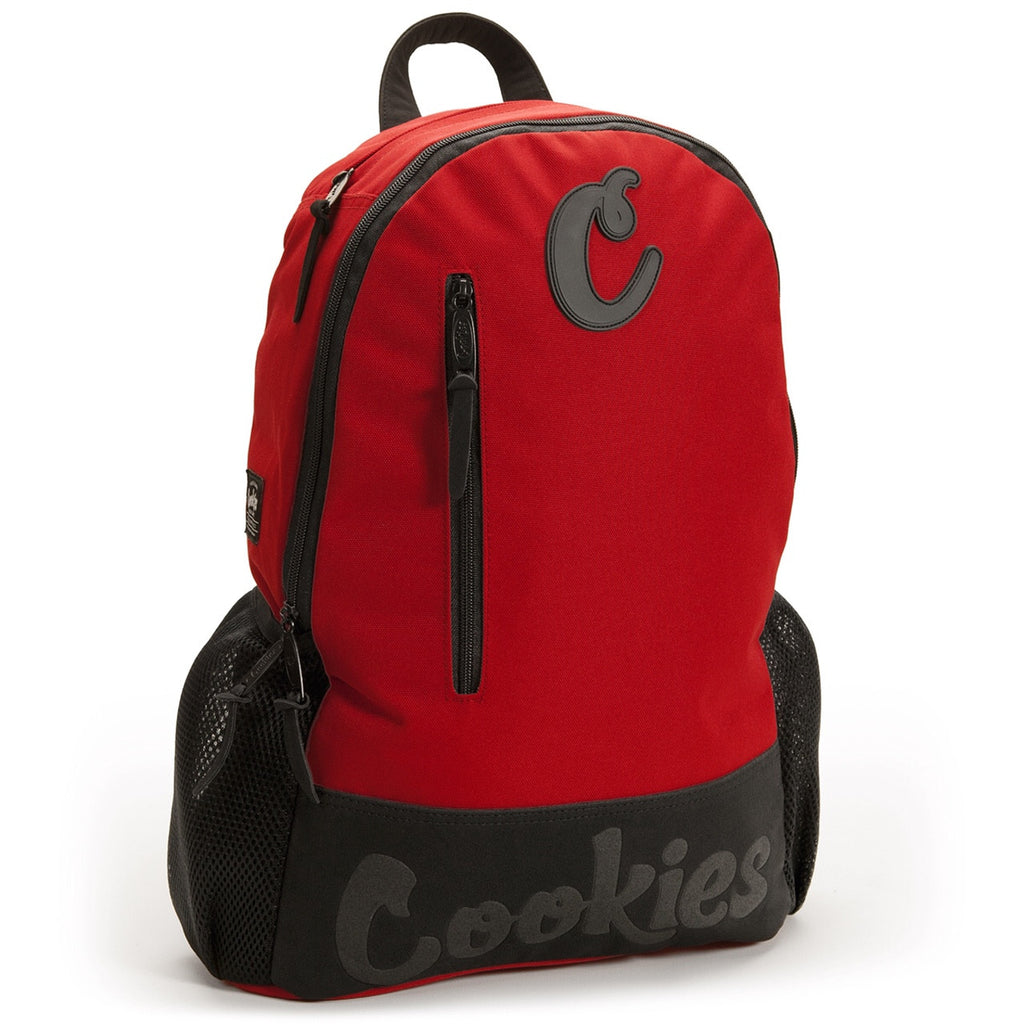 Thin Mint Nylon Backpack - RED