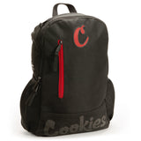 Thin Mint Nylon Backpack - Black