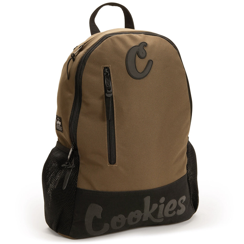 Thin Mint Nylon Backpack - BROWN