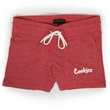 Womens Cruiser Shorts (Red Heather)