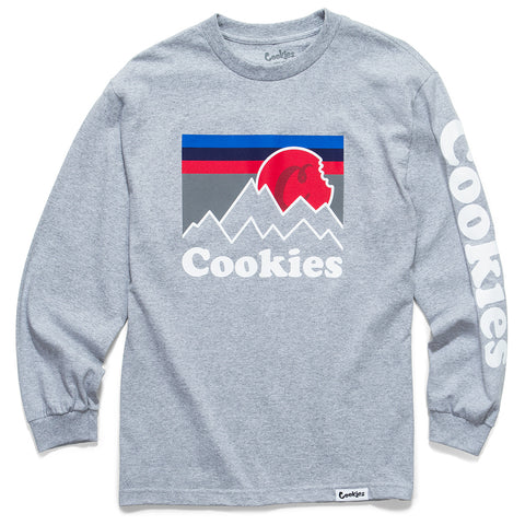 Mountain High L/S Tee (Heather Grey)