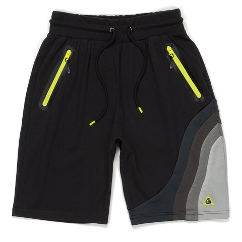 Ninety Five Pieced Tech Sweatshorts