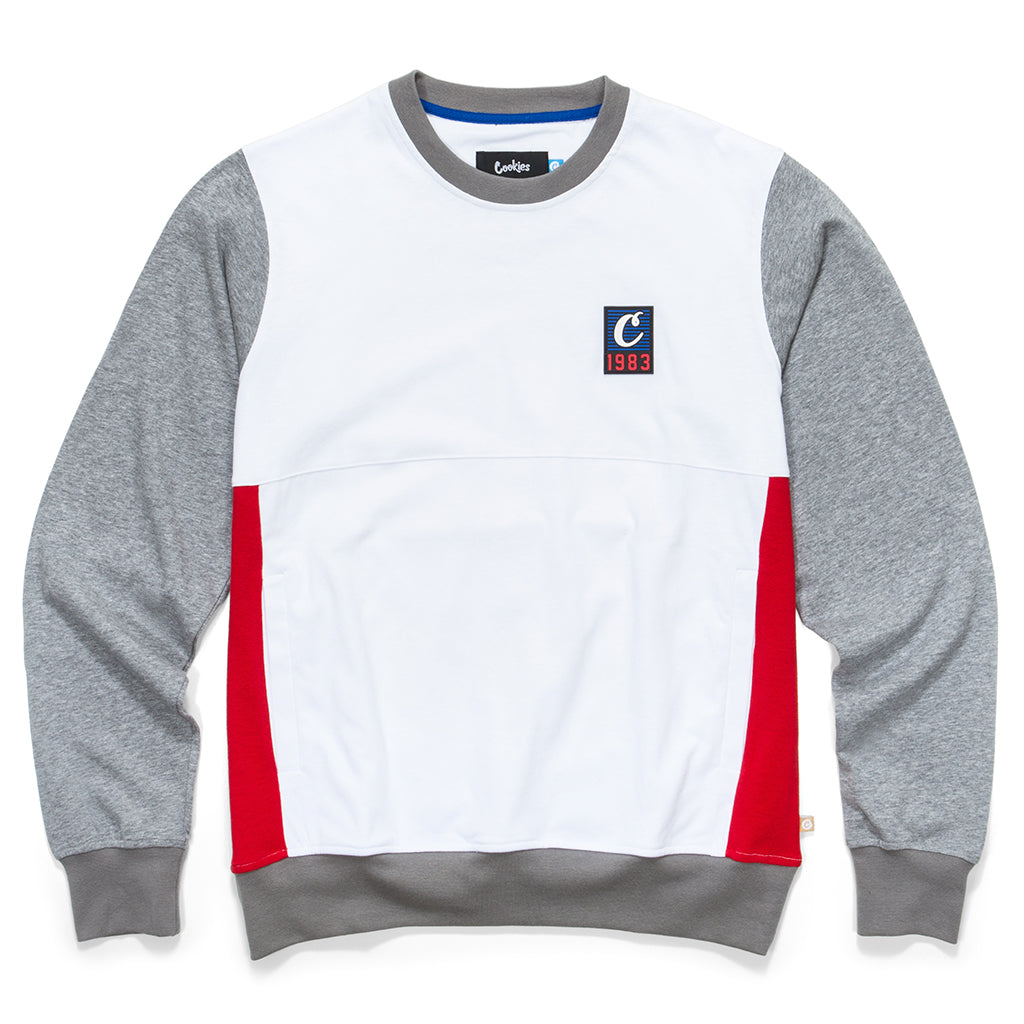 North Star Colorblocked L/S Knit