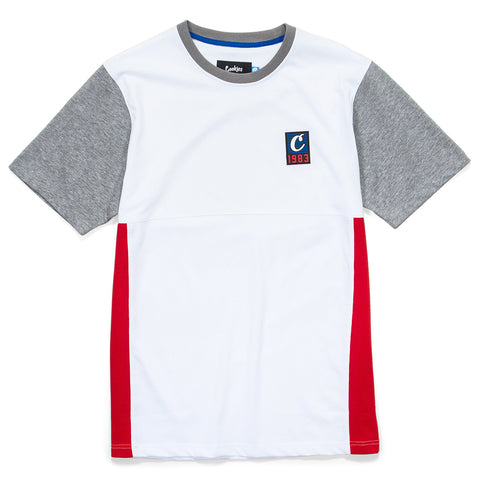 North Star Colorblocked S/S Knit
