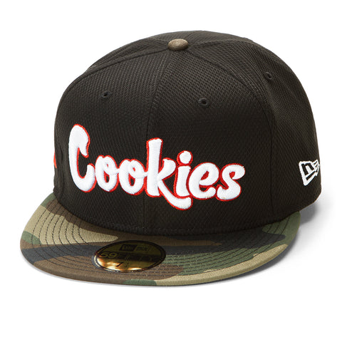 Cookies X New Era Fitted Original Logo Hat