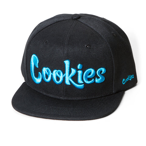 Original Logo Snap (Black/Blue)