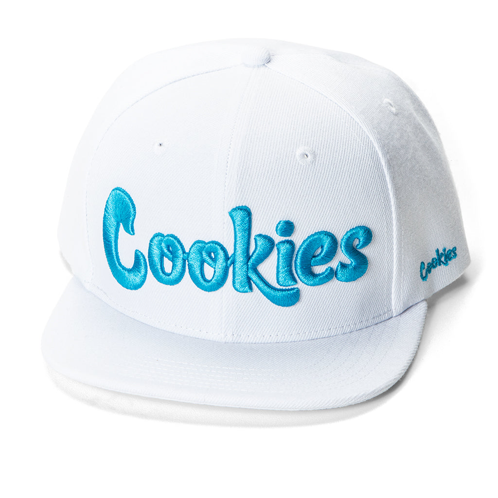 Original Logo Snap (White/Blue)
