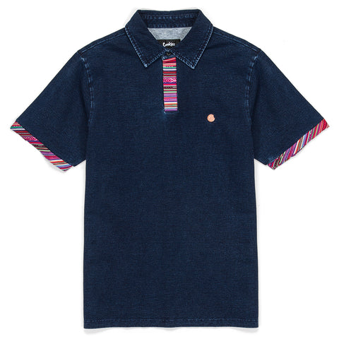 Peruvian Indigo Washed Polo