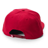 Cookies Woven Label Snapback (Red)