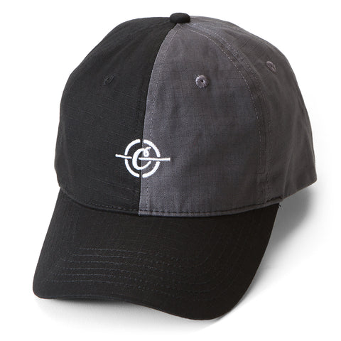 Riviera Dad Hat (Black/Charcoal)