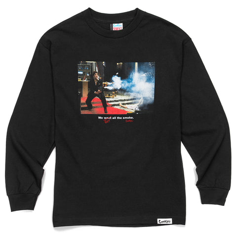 Scarface All The Smoke L/S Tee