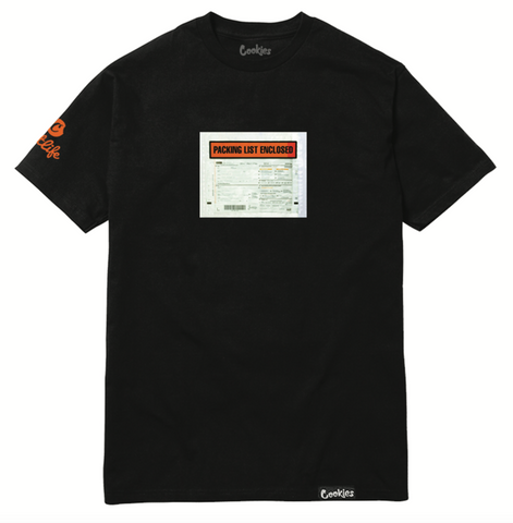 Cookies X JetLife Packing Slip Tee