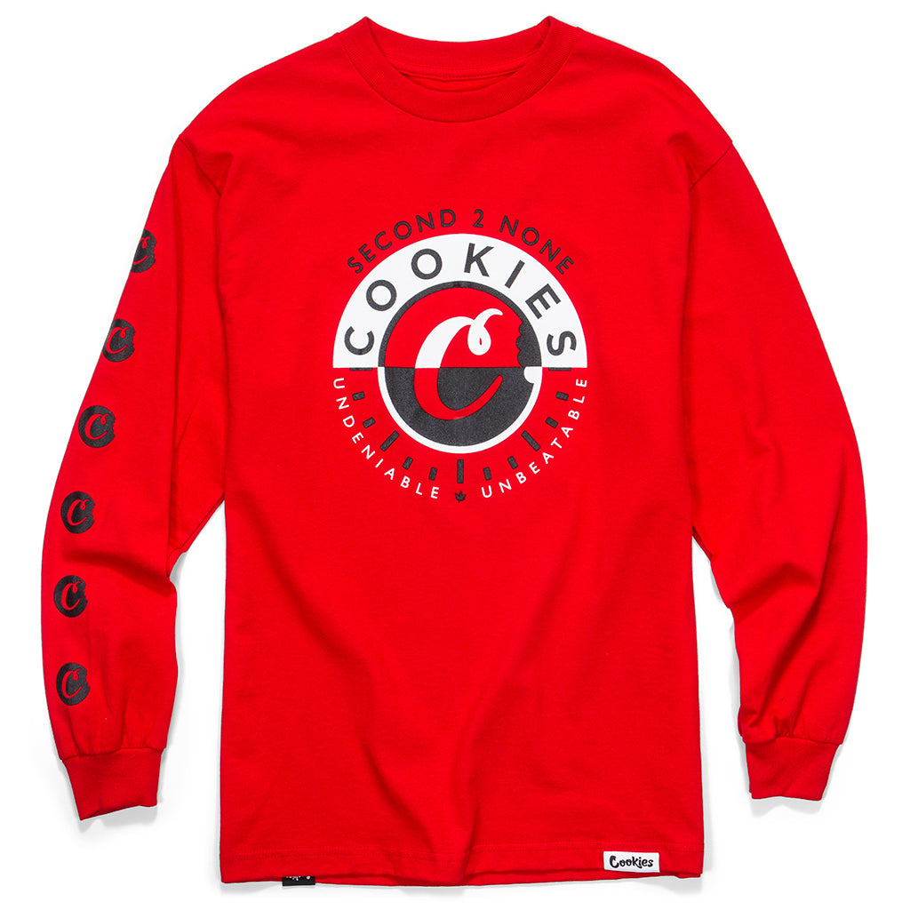 Second 2 None L/S Tee (Red)