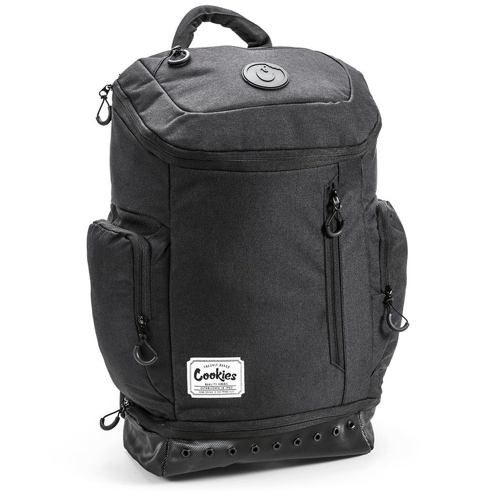 Smell Proof Techy Backpack (Black)