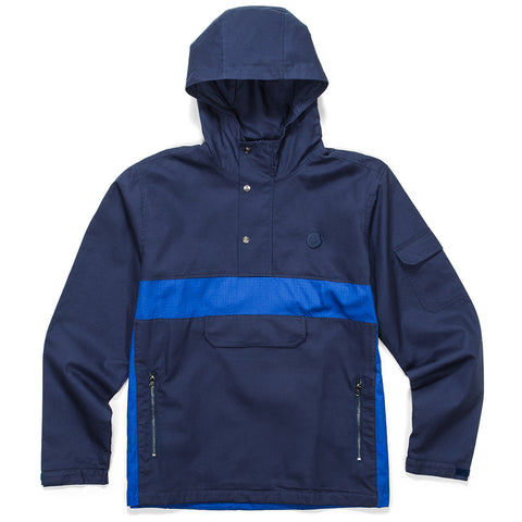 Sierra Hooded Anorak (Navy)