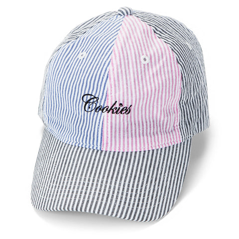 Sugarcane Seersucker Dad Hat