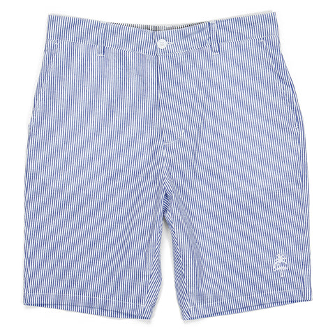 Sugarcane Cotton Seersucker Shorts