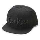 Thin Mint Logo Snapback (Black/Black)