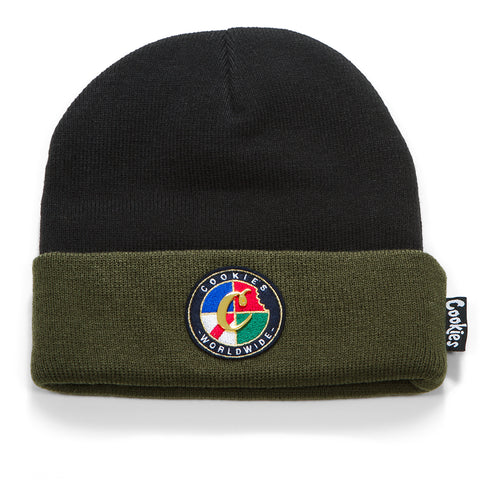 Tahoe Knit Beanie (Olive)