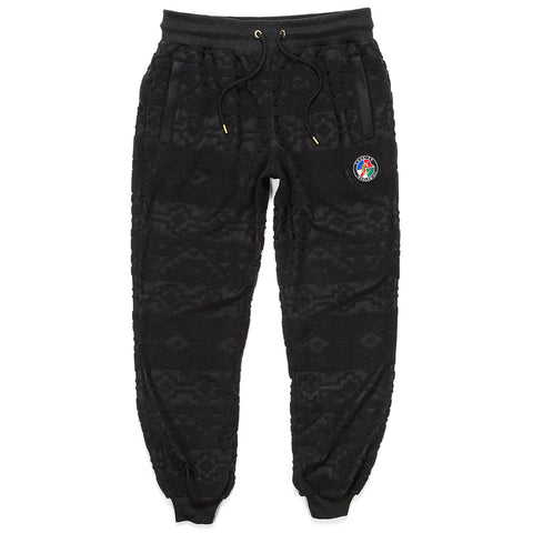 Tahoe Jacquarded Sweatpants (Black)