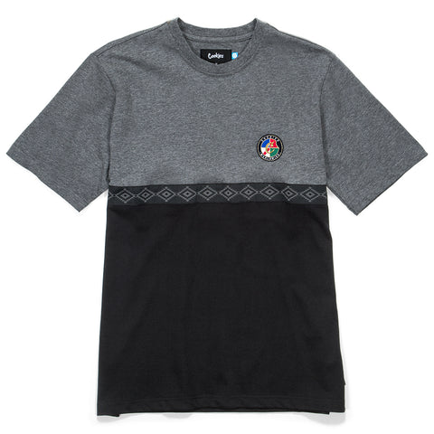 Tahoe Pieced Knit (Grey/Black)