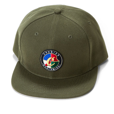 Tahoe Embroidered Snapback (Olive)