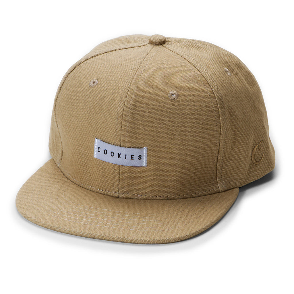 Cookies Woven Label Snapback (Tan)
