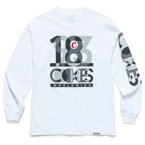 Team Cookies L/S Tee (White)