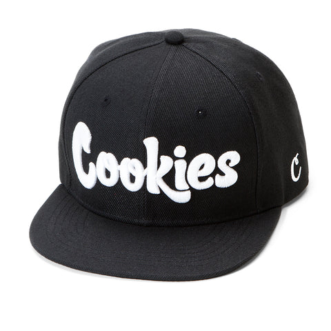 Thin Mint Snapback (Black/White)