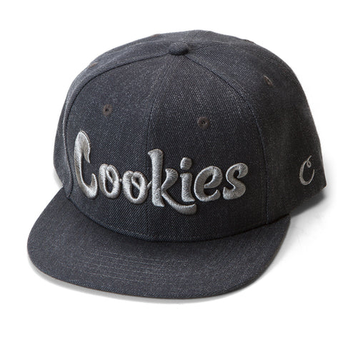 Thin Mint Snapback (Charcoal/Grey)