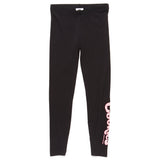 Womens Thin Mint Leggings (Black/Powder Pink)