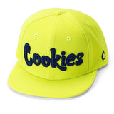 Thin Mint Twill Snapback Cap (Lime)