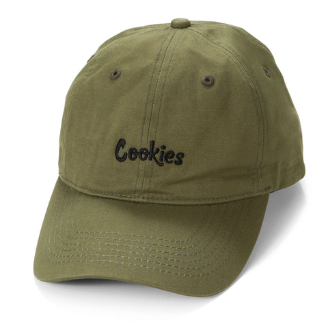 Thin Mint Dad Cap (Olive/Black)