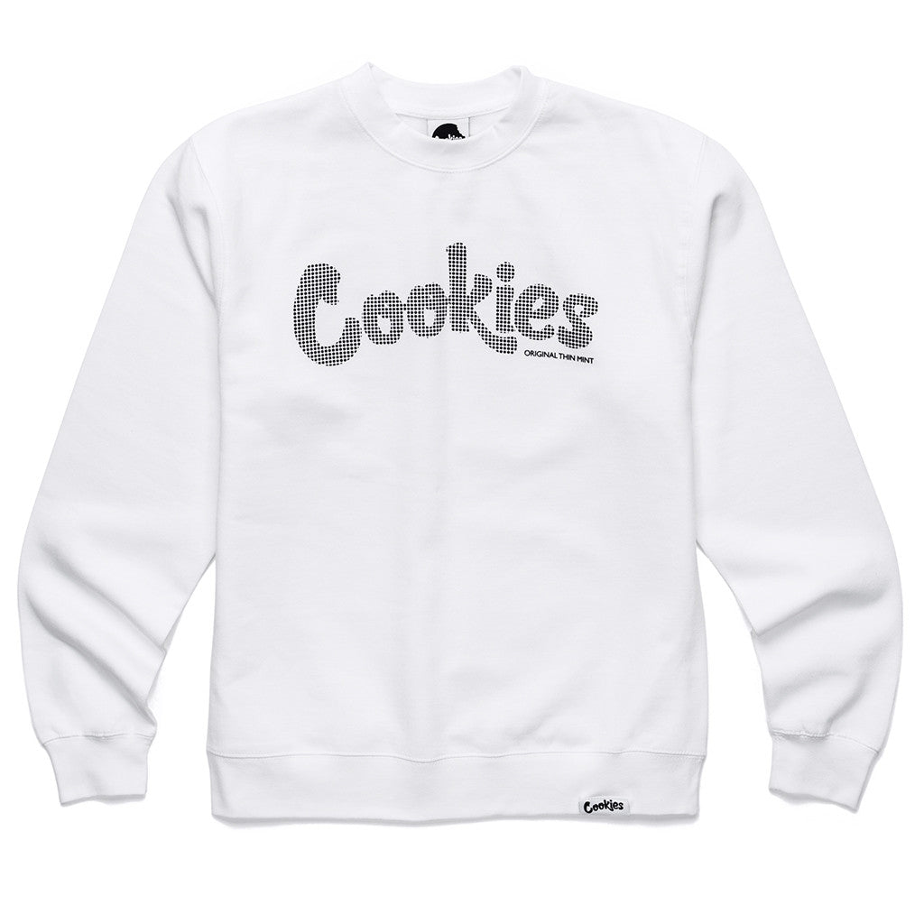 HD Thin Mint Crewneck (White/Black)