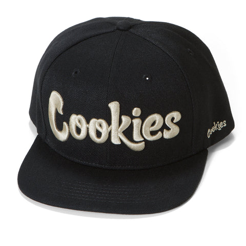 Original logo Snapback (Black/Cream)