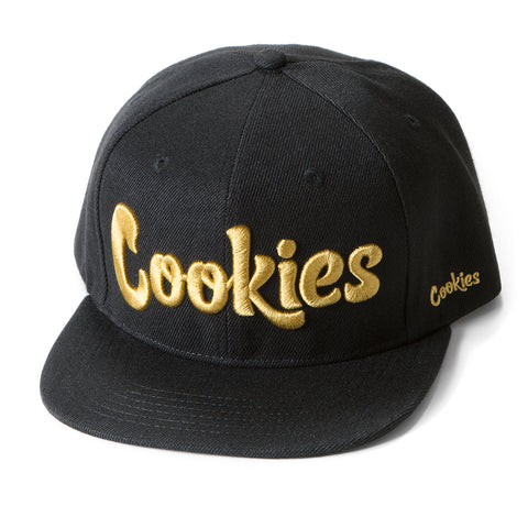 Original Thin Mint Snapback (Black/Gold)