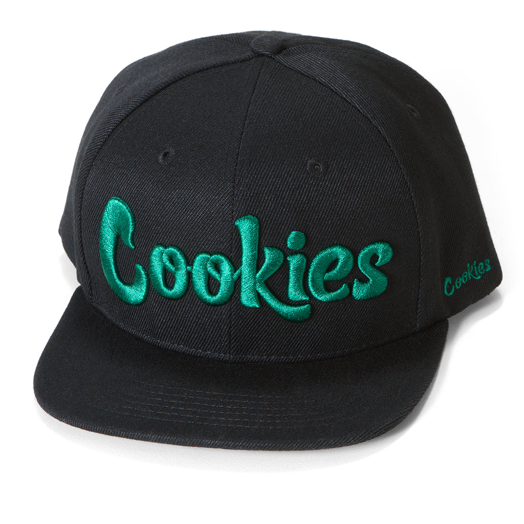Original logo Snapback (Black/Green)