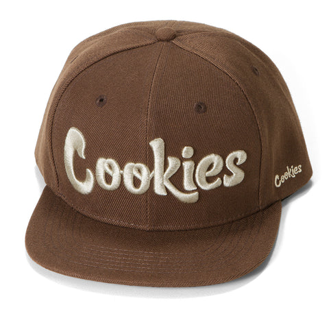Original logo Snapback (Brown/Cream)