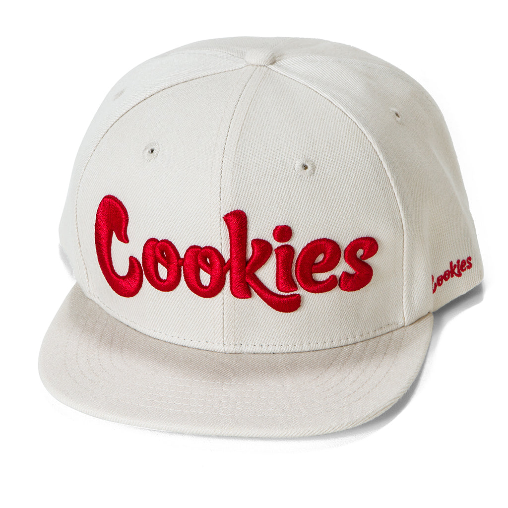 Original logo Snapback (Cream/Red)