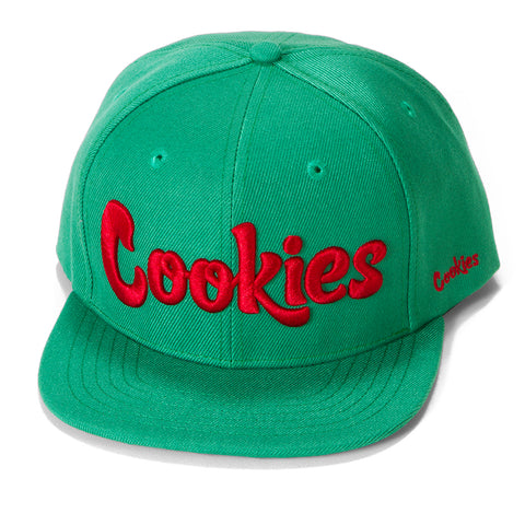 Original logo Snapback (Kelly Green/Red)