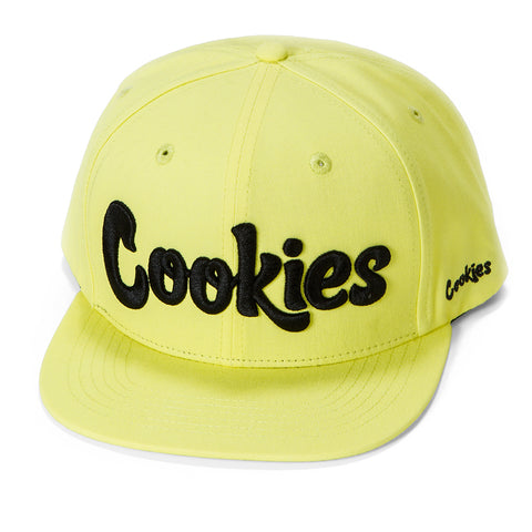 Original logo Snapback (Yellow/Black)