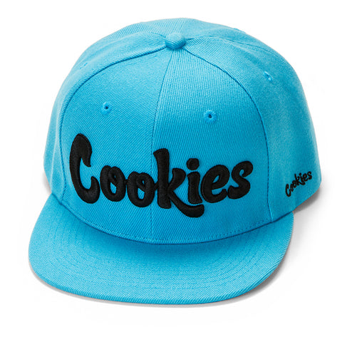 Original Logo Snapback (Cookies Blue/Black)