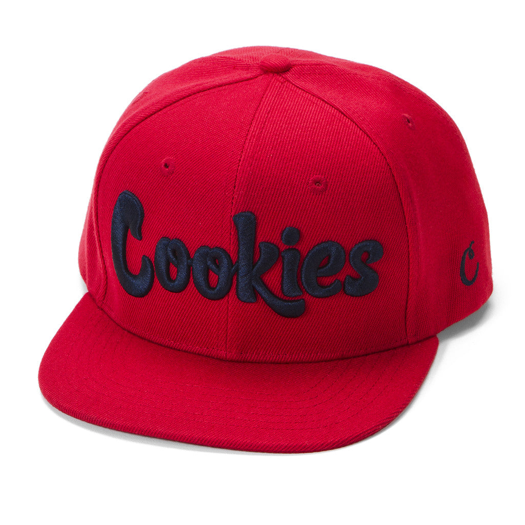 Original Logo Snap (Red/Navy)