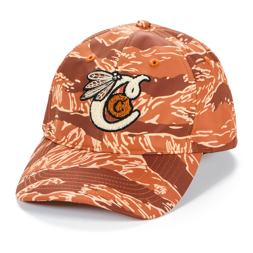 Top of the Key Tiger Camo Embroidered Dad Hat