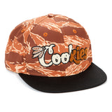 Top of the Key Twill Tiger Camo Embroidered Snapback