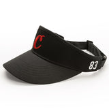 "Cookies ""C"" Visor (Black)"