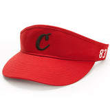 "Cookies ""C"" Visor (Red)"