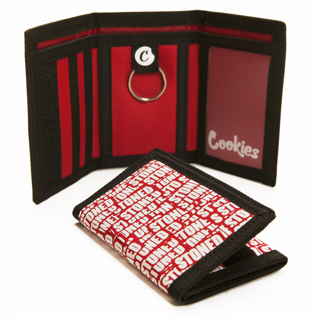 Cookies Stoned Wallet (Red)